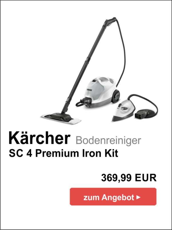 Kärcher SC 4 Premium Iron Kit