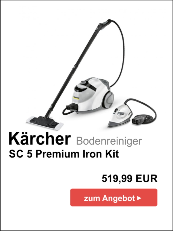 Kärcher SC 5 Premium Iron Kit